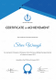 Certificate of Rafting Achievement Template