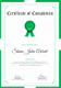 Sample Graduation Completion Certificate Template