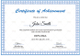 Diploma Achievement Certificate Template