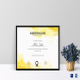 Painting Participation Certificate Template