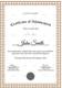 Graduation Curriculum Achievement Certificate Template