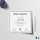 Graduation Diploma Completion Certificate