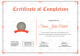 Successful Graduation Completion Certificate Template