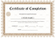Bachelor Degree Completion Certificate Template