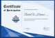 Football Award Certificate Template
