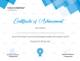 Sample Achievement Certificate Template