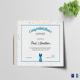 Simple Participant Congratulations Certificate Template