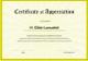 Certificate of School Appreciation Design Template