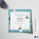 Reading Award Congratulations Certificate Template