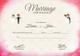 Elegant Marriage Certificate Template