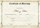 Classic Marriage Certificate Design Template