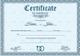 Formal Marriage Certificate Design Template