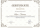 Emergency Manager Recognition Certificate Design Template