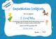 Chatter Books Congratulations Certificate Design Template