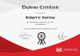 Sample Diploma Completion Certificate Template