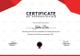 Prize Appreciation Certificate Design Template