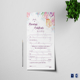 Water Color Wedding Certificate Template