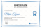 Table Tennis Appreciation Certificate Design Template