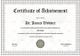 Taekwondo Certificate Design Template