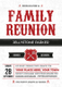 Modern Family Reunion Invitation Card Design