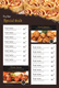 Restaurant Table Tent Menu Design Template