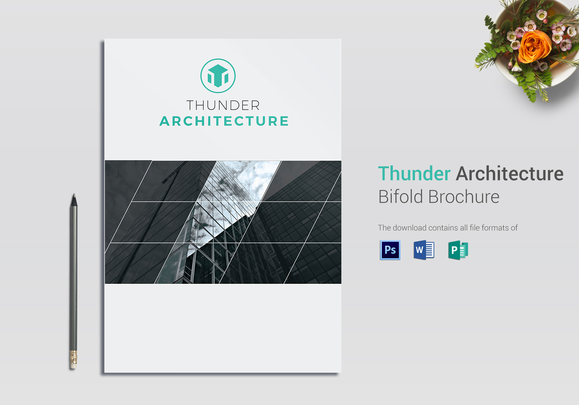 Thunder Architecture Brochure Template