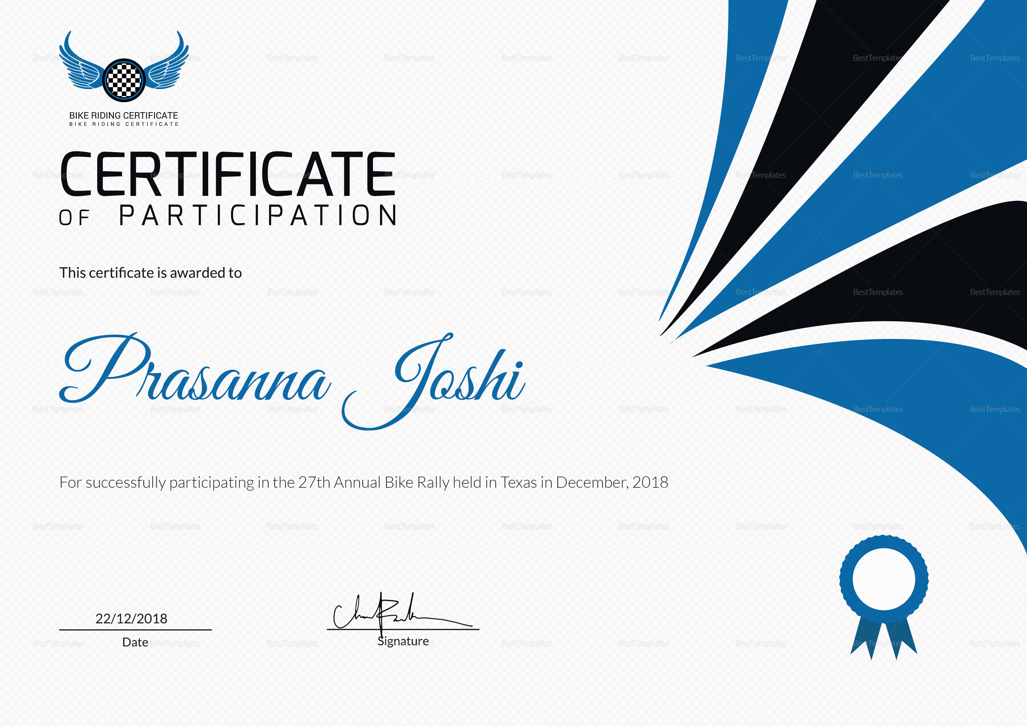 Free Business Certificate Templates