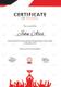 Prize Winner Training Certificate