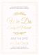 Marriage Invitation Template
