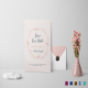 Blush Copper Wedding Invitation