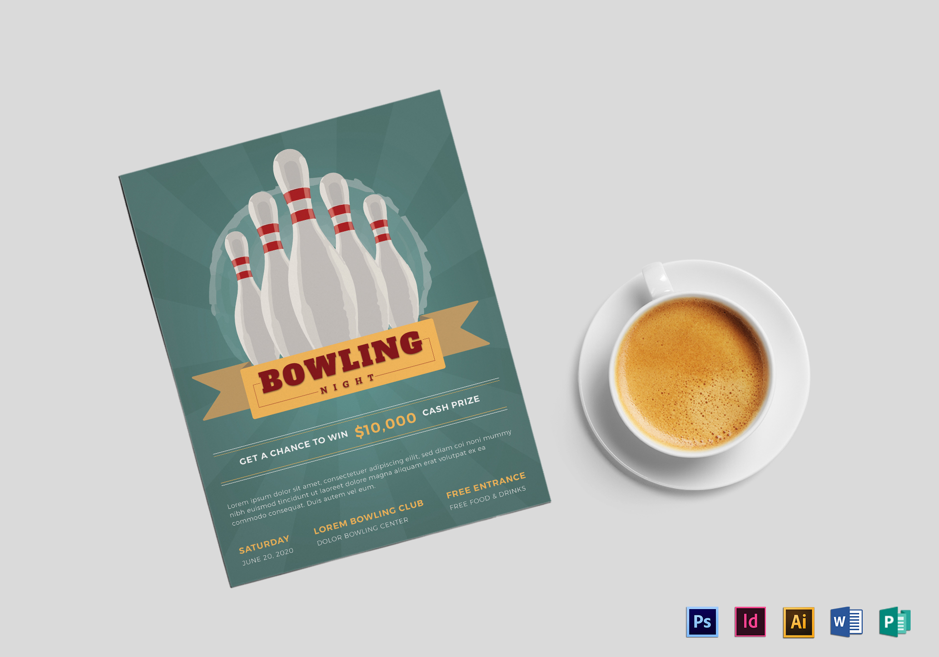 Super Bowling Flyer