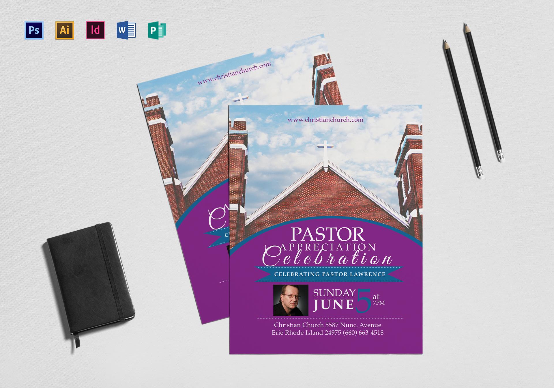 Clergy Anniversary Flyer