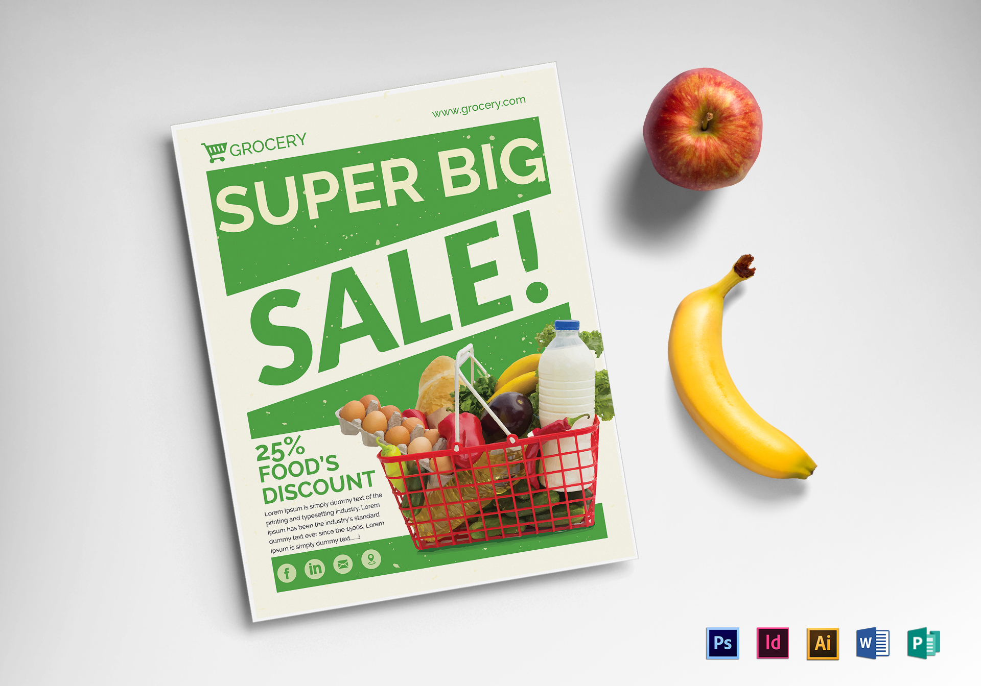 Grocery Sale Flyer
