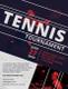 Long Tennis Tournament Flyer Template
