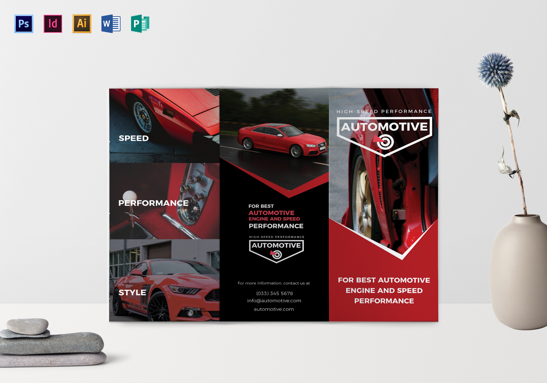 Sporty Automotive Brochure