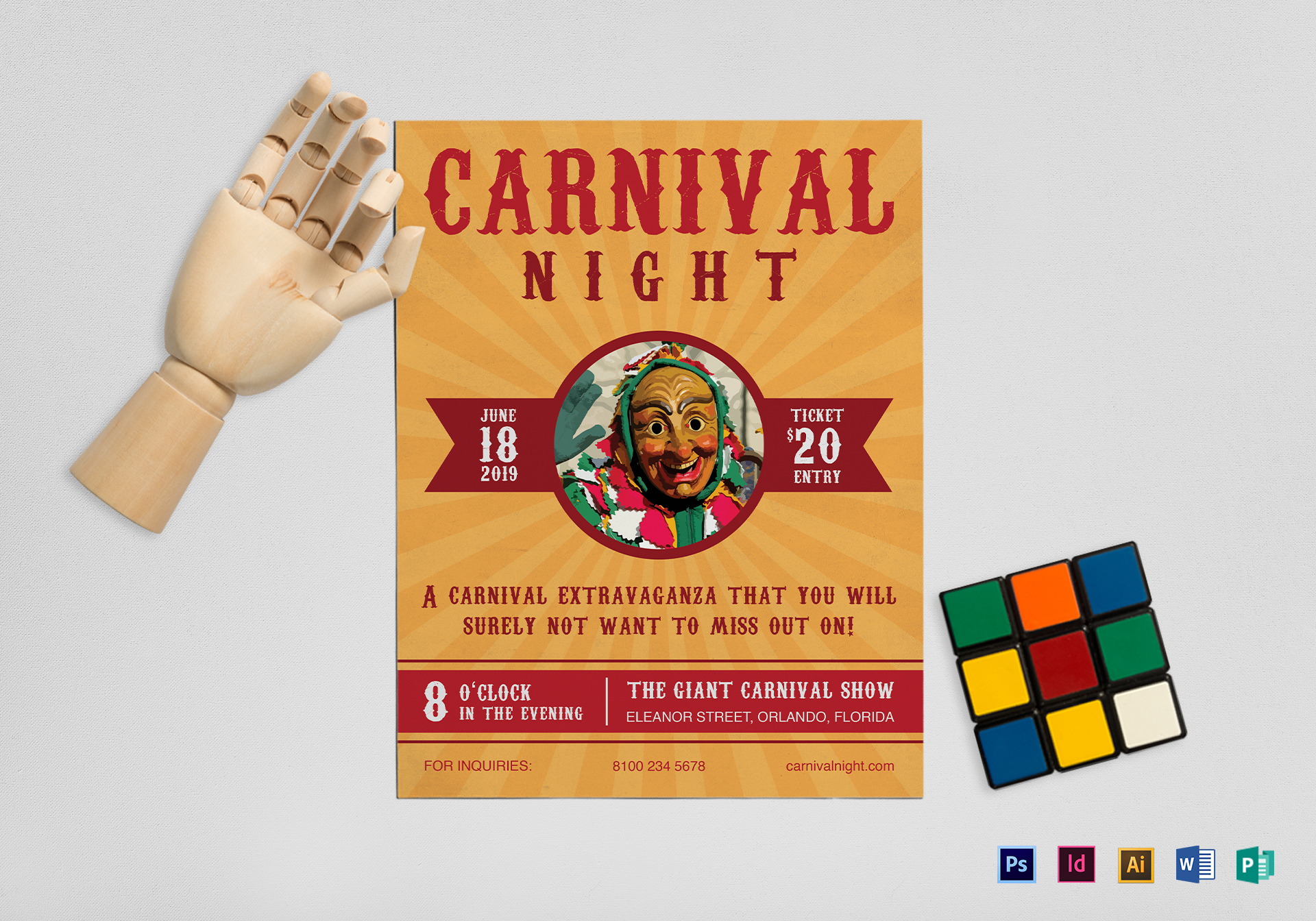 Carnival Night Flyer