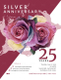 Silver Jubliee Anniversary Flyer Template