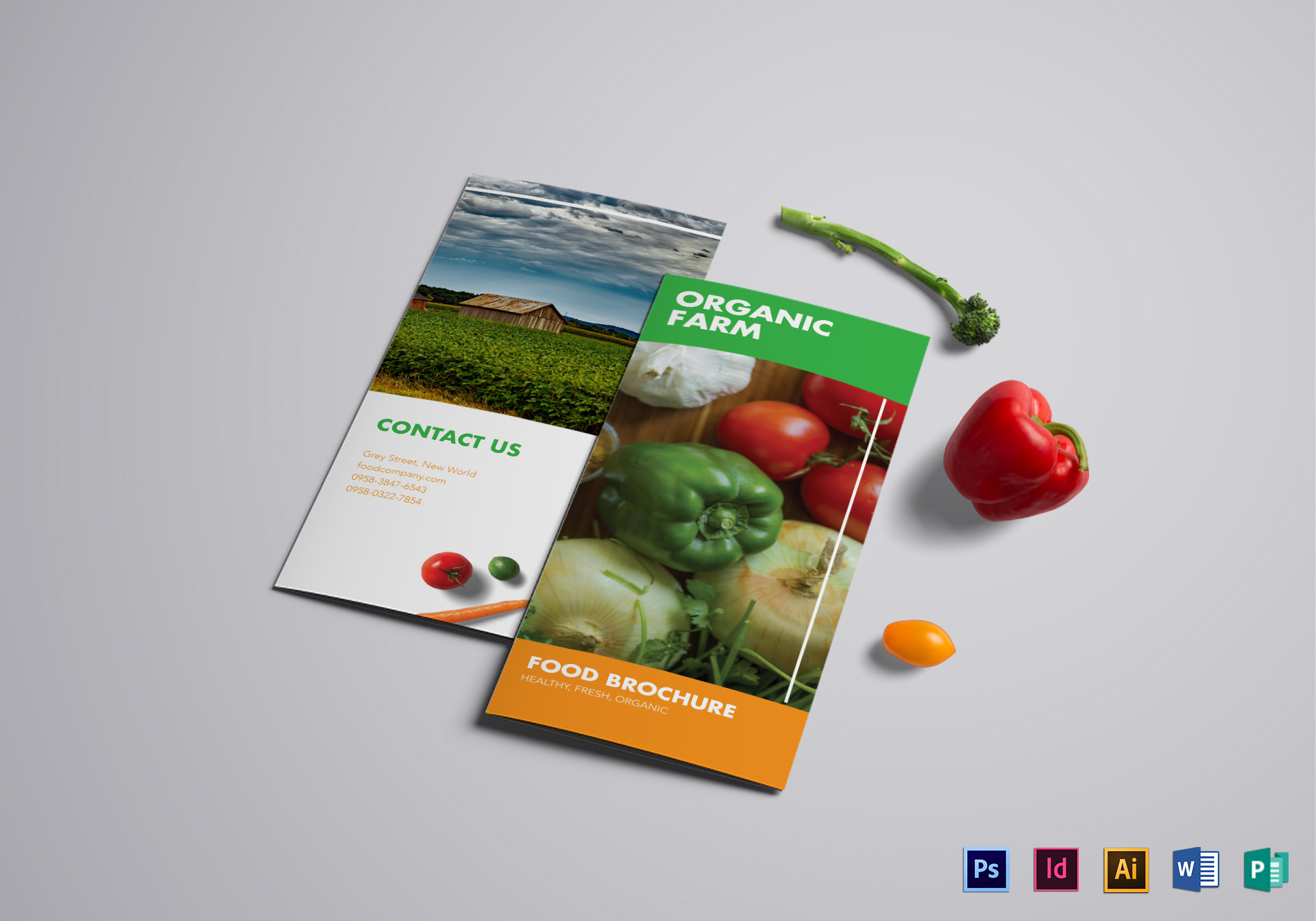 Food Brochure Template