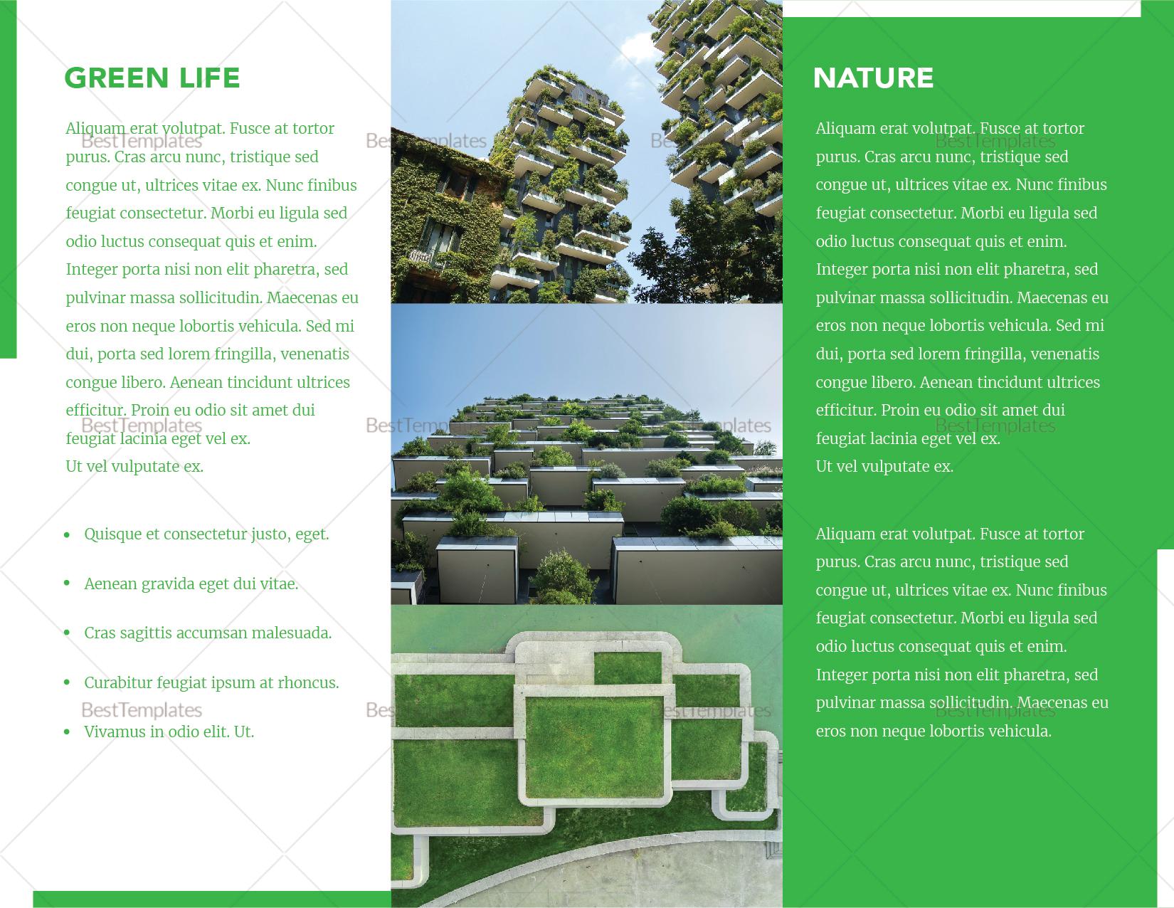 Landscape Brochure Template