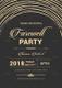 Modern Farewell Party Invitation Design