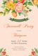 Floral Farewell Party Invitation Design