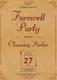Vintage Farewell Party Invitation Design