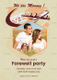 Photo Farewell Party Invitation Design