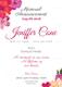 Funeral Invitation Design
