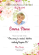 Floral Funeral Invitation Design