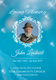 Funeral Obituary Invitation Design