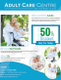Adult Day Care Center Flyer Template