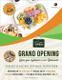 Restaurant Grand Opening Flyer Design
