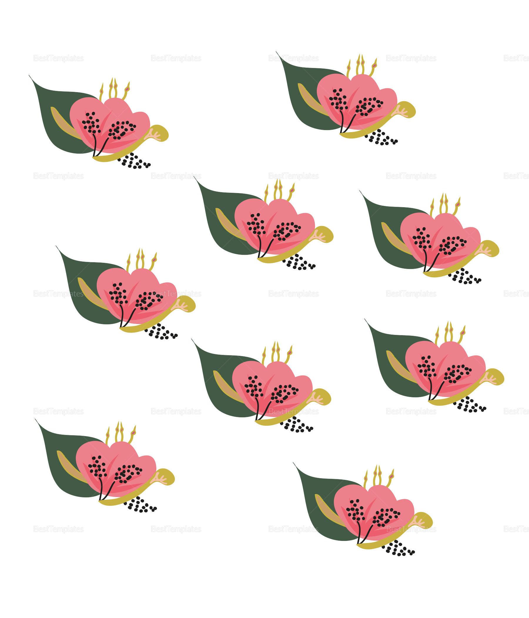 Burgundy floral Wedding Envelope Design