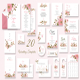 Floral Wedding Invitation Suite Template